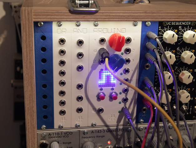 eurorack modular synthesizer modules by amplivibe thingiverse. Black Bedroom Furniture Sets. Home Design Ideas
