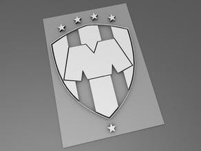 liga mx - Monterrey - easy print