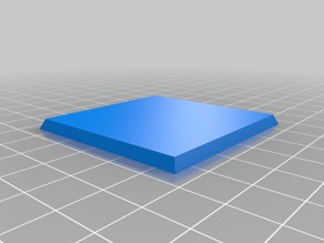 2 inch square base with magnet slot