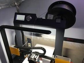 BQ Hephestos 2 Rear Roll Holder & Filament Feeder