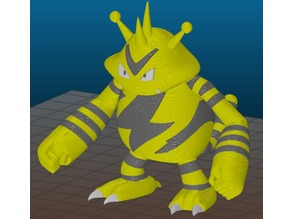 Electabuzz multimaterial remix