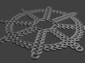 Knotwork Wheel Design