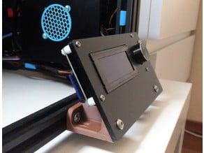 Creality Ender-4 Improve Ergonomics of Display Module, rotate 30 degrees