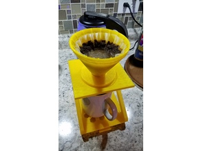 Coffee Pour Over Stand with Drip Tray