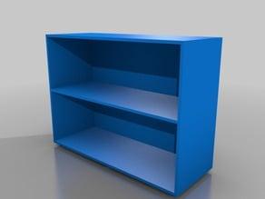 Oregon MS Straight Double Bookcase