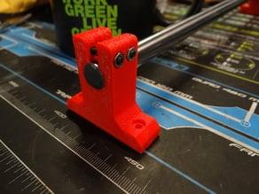 12mm Rod/ Shaft Support Block, for OpenBeam