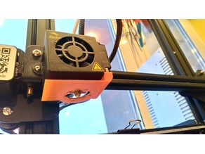 Ender-3 Vent Ring with Windshield