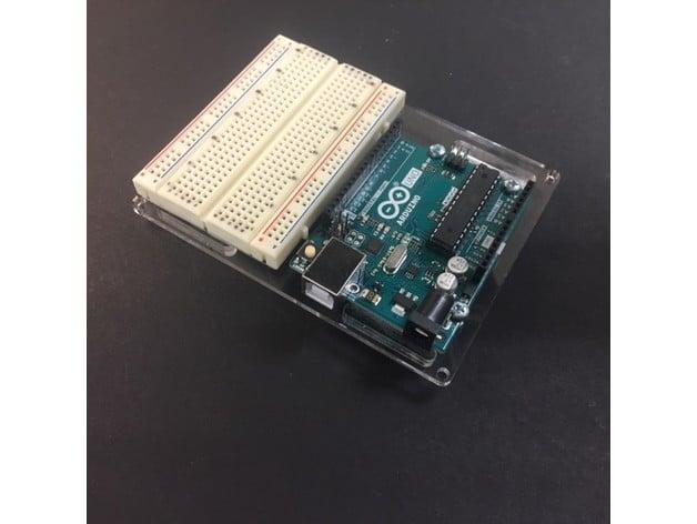 Arduino Breadboard Mount By Walexander Thingiverse