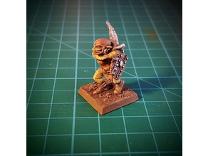 Goblin with sabre 28mm (NO SUPPORTS)