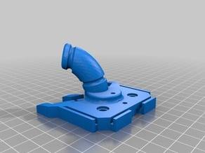 Replicator 1 CTC Dual Extruder Filament Guide