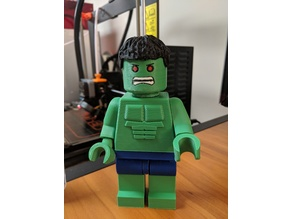 Giant Lego Hulk Legs Multicolor