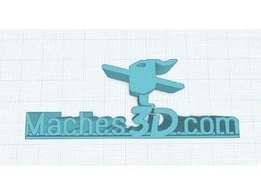 Maches3D.com Logo