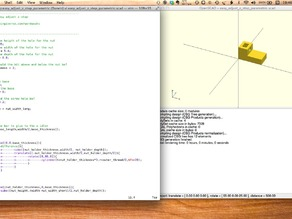snipMate OpenSCAD snippets