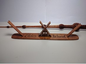 Harry potter deathly hallows elder wand stand by cwu33 for Elder wand stand