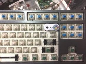 SNES Controller Keycap (Backspace)
