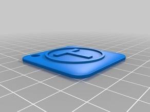 Thingiverse logo Keychain