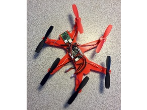 Micro Hexacopter frame for 8.5 mm X 20.0 mm brushed motors