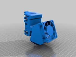 Stage 1: Anet A8 E3D V6 mount