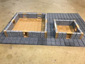 OpenForge Dungeon Stone Offset Exterior Bases