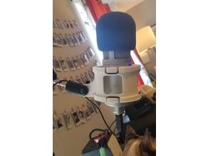 Wide Microphone Suspension Shock Mount