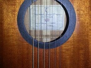 Rosace de guitare