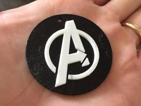 Avengers necklace / pendant