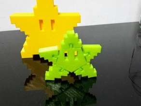 Articulated pixel star