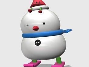Crazy Snowman NO.1