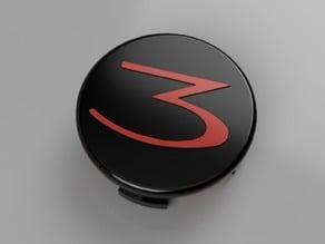 Tesla Model 3 Wheel Center Cap