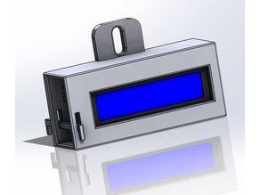 Arduino LCD I2c 16X2 Holder