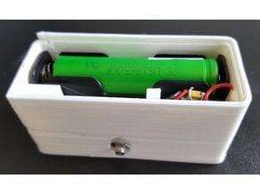 Battery powered ESP8266 servo enclosure (temperature)