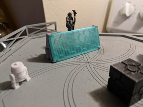 Star Wars Legion laser cut MDF shield barrier