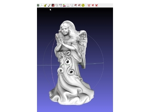 MakerBot ThriftStore Angel Remix with fpertl Praying Hands