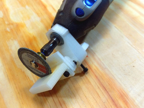 Micro Table Saw Attachment for Dremel