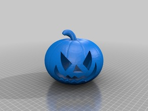 Pumpkin with or without scary face