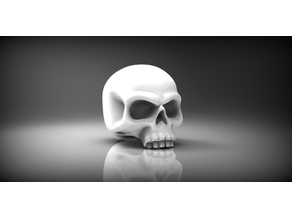 Heroic scale skull 28mm