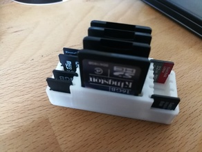 SD and micro-SD Holder (4/10 or 12/40 pcs)