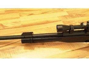 Aw308 sniper barrel holder