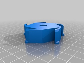 Customized Spool Hub Adapter for Colorfabb