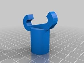 Paintball Hopper Holder for Metal Racks