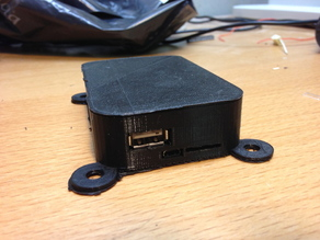 BeagleBone Black box with legs