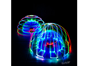 Light painting robot