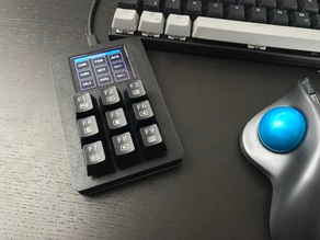 Custom Mechanical Keypad with Display