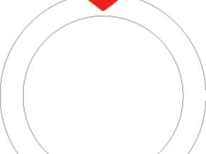 Lasercut Heart Ring