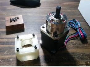 Mounting Adapter for Geared NEMA17 Stepper Motor