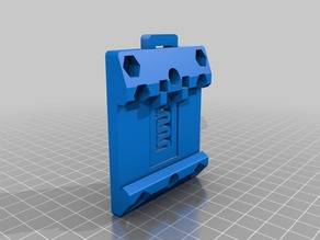 DIN rail clamps for Talon SRX, PCM, VRM