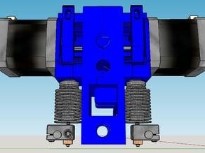 Compact Prusa i3 E3D V6 Dual or single Extruder V2