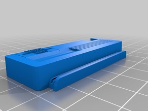 Commodore Amiga 3000 style mini case (Front)
