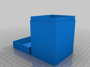 100 Card Sleeved MTG Deck Box