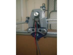 MPCNC XY Stepper Mount w/Thru Hole